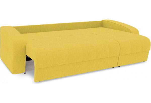 Диван угловой правый «Аспен Т1» (Neo 08 (рогожка) желтый) - фото 7