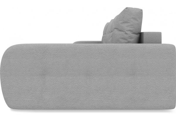 Диван угловой правый «Томас Slim Т2» (Kolibri Silver (велюр) серый) - фото 3