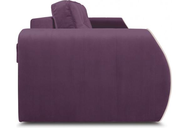 Диван «Хьюго» (Kolibri Violet (велюр) фиолетовый кант Kolibri Cream (велюр) кремовый) - фото 3