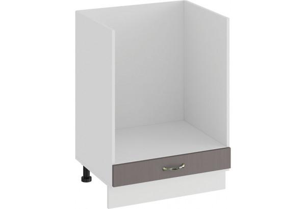 Шкаф напольный под бытовую технику «Бьянка» (Белый/Дуб серый) - фото 1