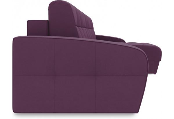 Диван угловой правый «Аспен Т1» (Kolibri Violet (велюр) фиолетовый) - фото 3