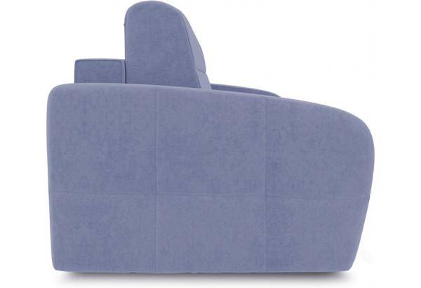 Диван «Аспен» (Poseidon Blue Graphite (иск.замша) серо-фиолетовый) - фото 3