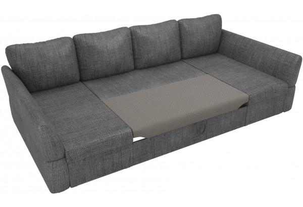 П-образный диван Гесен Серый (Рогожка) - фото 6