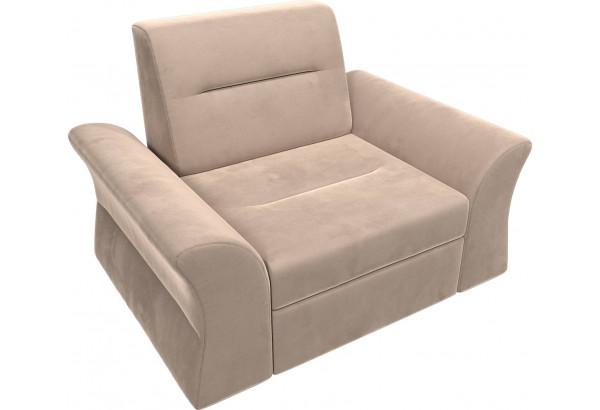 Кресло Клайд Бежевый (Велюр) - фото 6