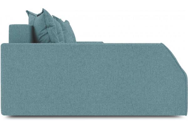Диван угловой левый «Люксор Slim Т2» (Levis 74 (рогожка) Изумрудный) - фото 5