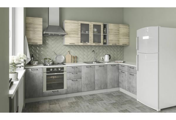 "Кухня ""Лофт"" угловая 3,2 х 1,4 м (модульная система) - фото 1"
