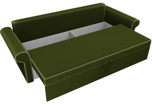 Диван прямой Милфорд Зеленый (Микровельвет) - фото 5