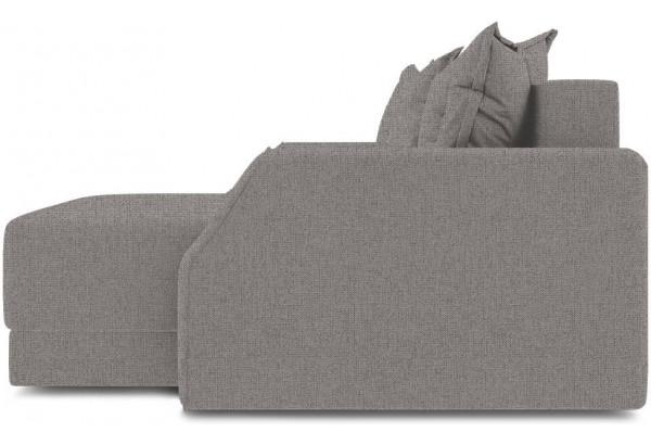 Диван угловой правый «Люксор Slim Т1» (Levis 25 (рогожка) Светло - коричневый) - фото 5