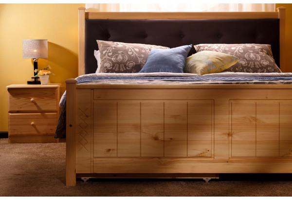 Кровать мягкая 1 с ящиками - фото 4