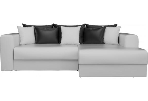 Угловой диван Мэдисон Белый (Экокожа) - фото 3