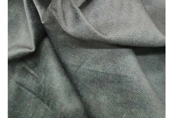 Диван прямой Честер Черный/Белый (Микровельвет/Экокожа) - фото 9