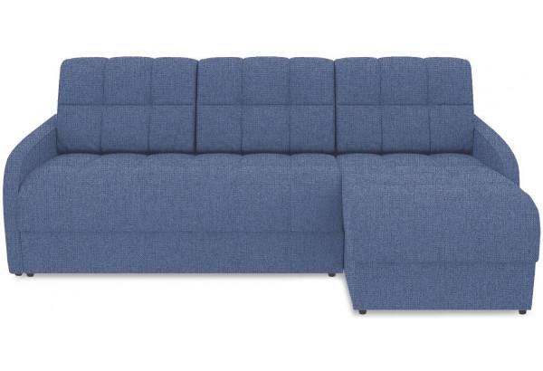 Диван угловой правый «Аспен Slim Т1» (Levis 78 (рогожка) Темно-синий) - фото 2