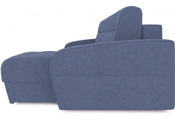 Диван угловой правый «Аспен Т1» (Levis 78 (рогожка) Темно-синий) - фото 4