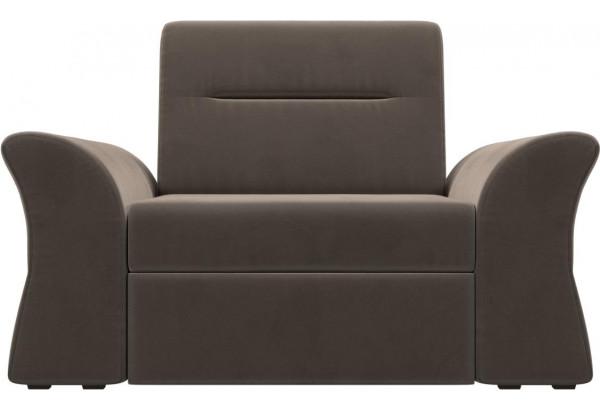 Кресло Клайд Коричневый (Велюр) - фото 2