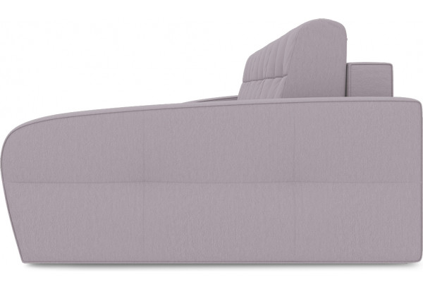 Диван угловой правый «Аспен Т2» (Poseidon Pale Lavender (иск.замша) бледно-лавандовый) - фото 4