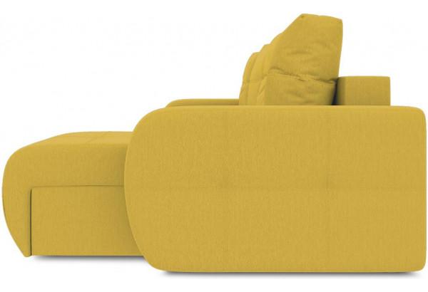 Диван угловой правый «Томас Slim Т1» (Poseidon Curcuma (иск.замша) желтый) - фото 5