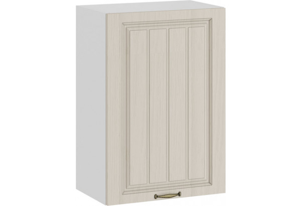 Шкаф навесной c одной дверью «Лина» (Белый/Крем) - фото 1