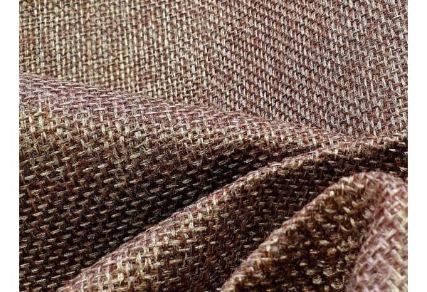 Прямой диван аккордеон Сенатор 140 Коричневый бежевый (Рогожка/Экокожа) - фото 8