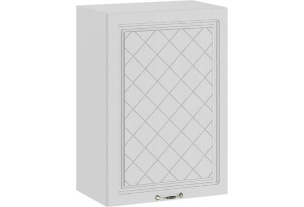 Шкаф навесной c одной дверью «Бьянка» (Белый/Дуб белый) - фото 1