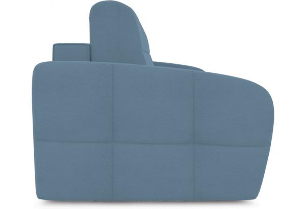Диван «Аспен Slim» (Poseidon Ocean (иск.замша) серо-голубой) - фото 3