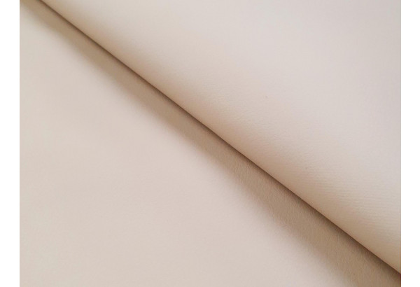 Диван прямой Карнелла бежевый/коричневый (Экокожа) - фото 5