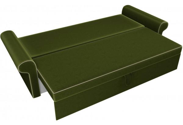 Диван прямой Милфорд Зеленый (Микровельвет) - фото 6