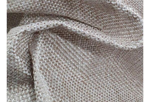 Угловой диван Венеция бежевый/коричневый (Рогожка) - фото 9