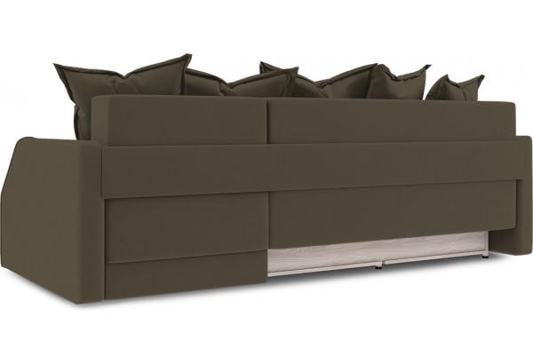 Диван угловой правый «Люксор Slim Т1» (Beauty 04 (велюр) коричневый) - фото 4