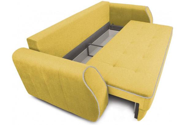 Диван «Хьюго» (Neo 08 (рогожка) желтый кант Neo 02 (рогожка) бежевый) - фото 5