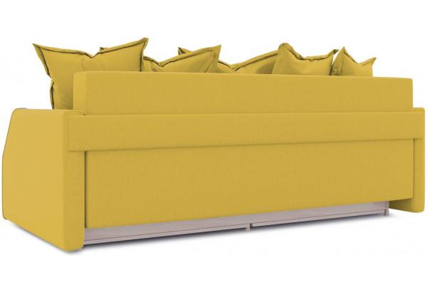 Диван «Люксор Slim» (Poseidon Curcuma (иск.замша) желтый) - фото 3