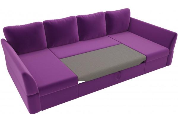П-образный диван Гесен Фиолетовый (Микровельвет) - фото 6