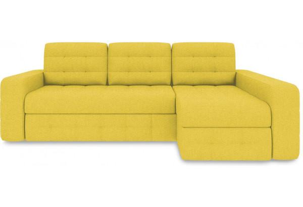 Диван угловой правый «Райс Т2» (Neo 08 (рогожка) желтый) - фото 2