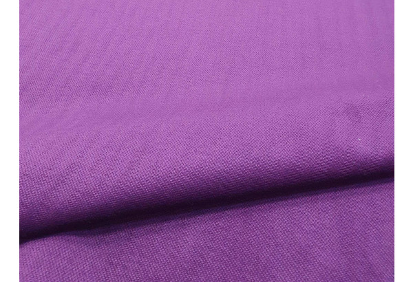 Кухонный угловой диван Люксор черный/фиолетовый (Микровельвет) - фото 5