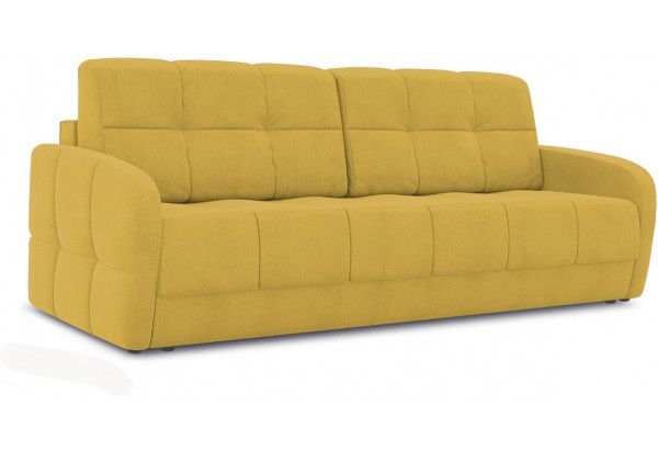 Диван «Аспен Slim» (Poseidon Curcuma (иск.замша) желтый) - фото 1