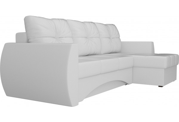 Угловой диван Сатурн Белый (Экокожа) - фото 3