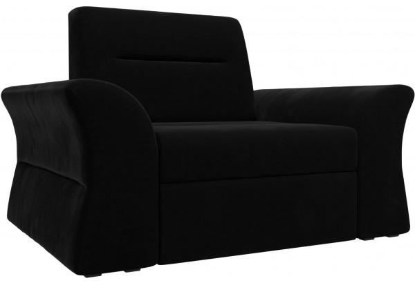 Кресло Клайд Черный (Микровельвет) - фото 1