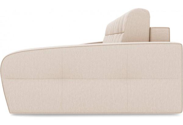 Диван угловой правый «Аспен Slim Т2» (Kolibri Cream (велюр) кремовый) - фото 4