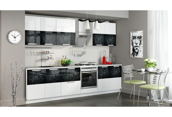 Кухонный гарнитур длиной - 300 см (со шкафом НБ) Фэнтези (Лайнс) - фото 2