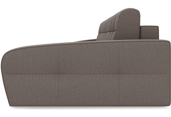 Диван угловой правый «Аспен Slim Т2» (Kolibri Mocco (велюр) коричневый) - фото 4