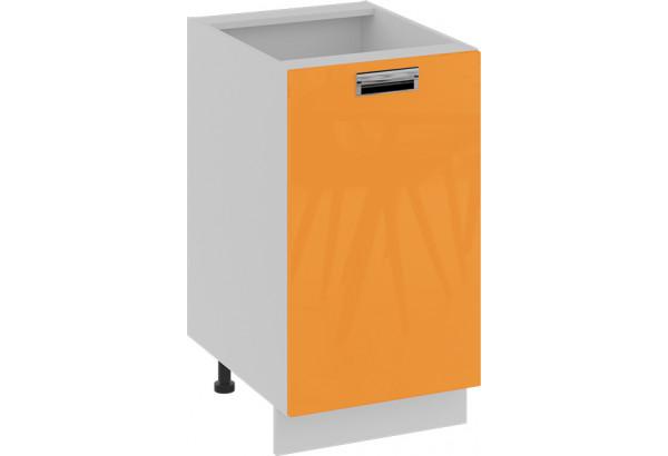 Шкаф напольный (правый) (БЬЮТИ (Оранж)) - фото 1