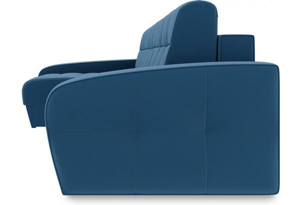 Диван угловой левый «Аспен Slim Т2» (Beauty 07 (велюр) синий) - фото 3