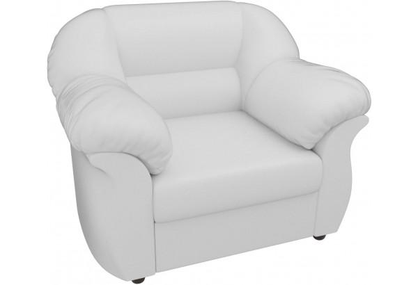 Кресло Карнелла Белый (Экокожа) - фото 4