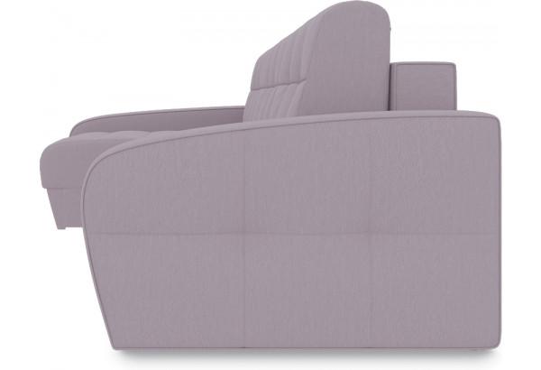 Диван угловой левый «Аспен Slim Т2» (Poseidon Pale Lavender (иск.замша) бледно-лавандовый) - фото 3