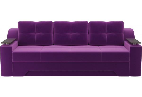 Диван прямой Сенатор Фиолетовый (Микровельвет) - фото 2