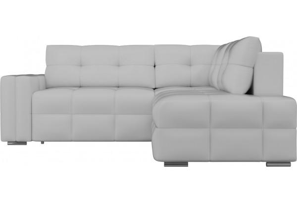 Угловой диван Леос Белый (Экокожа) - фото 2