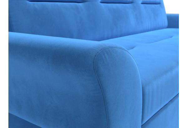 Прямой диван Клайд Голубой (Велюр) - фото 4