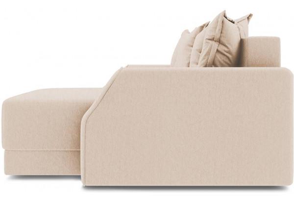 Диван угловой правый «Люксор Slim Т1» (Kolibri Cream (велюр) кремовый) - фото 5