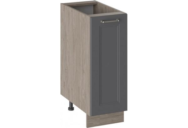 Шкаф напольный ОДРИ (Серый шелк) - фото 1