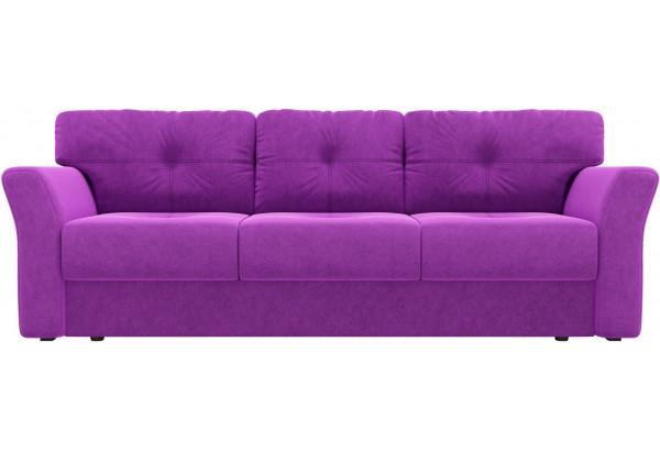 Диван прямой Манхеттен Фиолетовый (Микровельвет) - фото 2