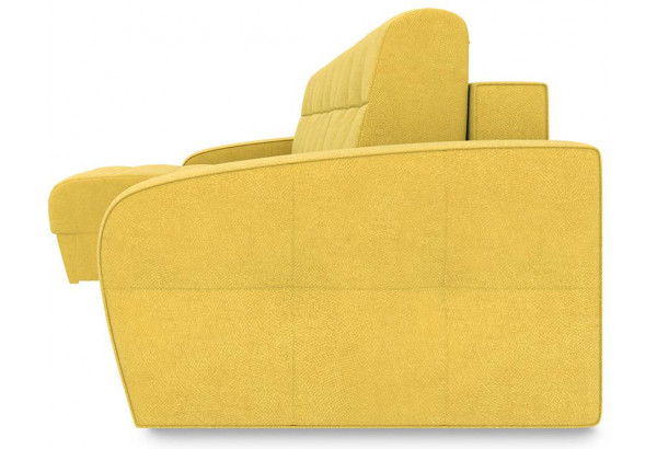 Диван угловой левый «Аспен Slim Т1» (Maserati 11 (велюр) желтый) - фото 3